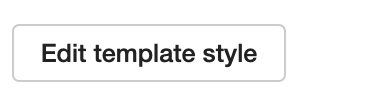 Dentally Edit template style button